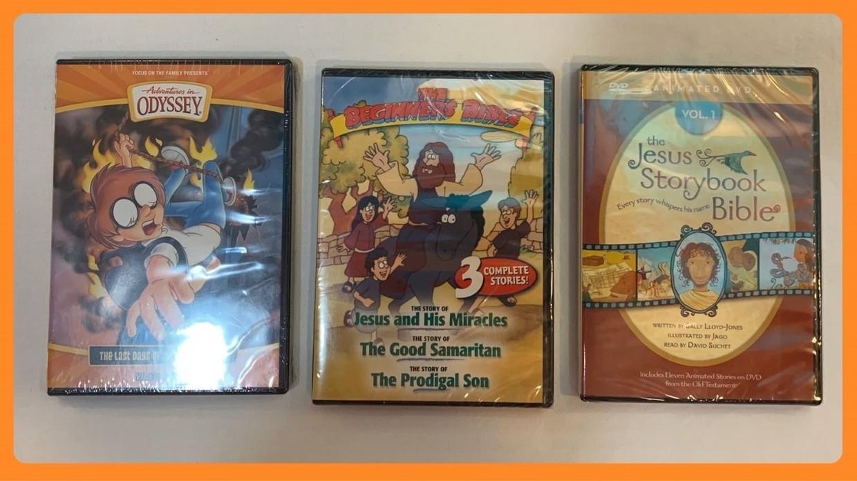 Christian DVDs for Kids in Sheldon, Iowa