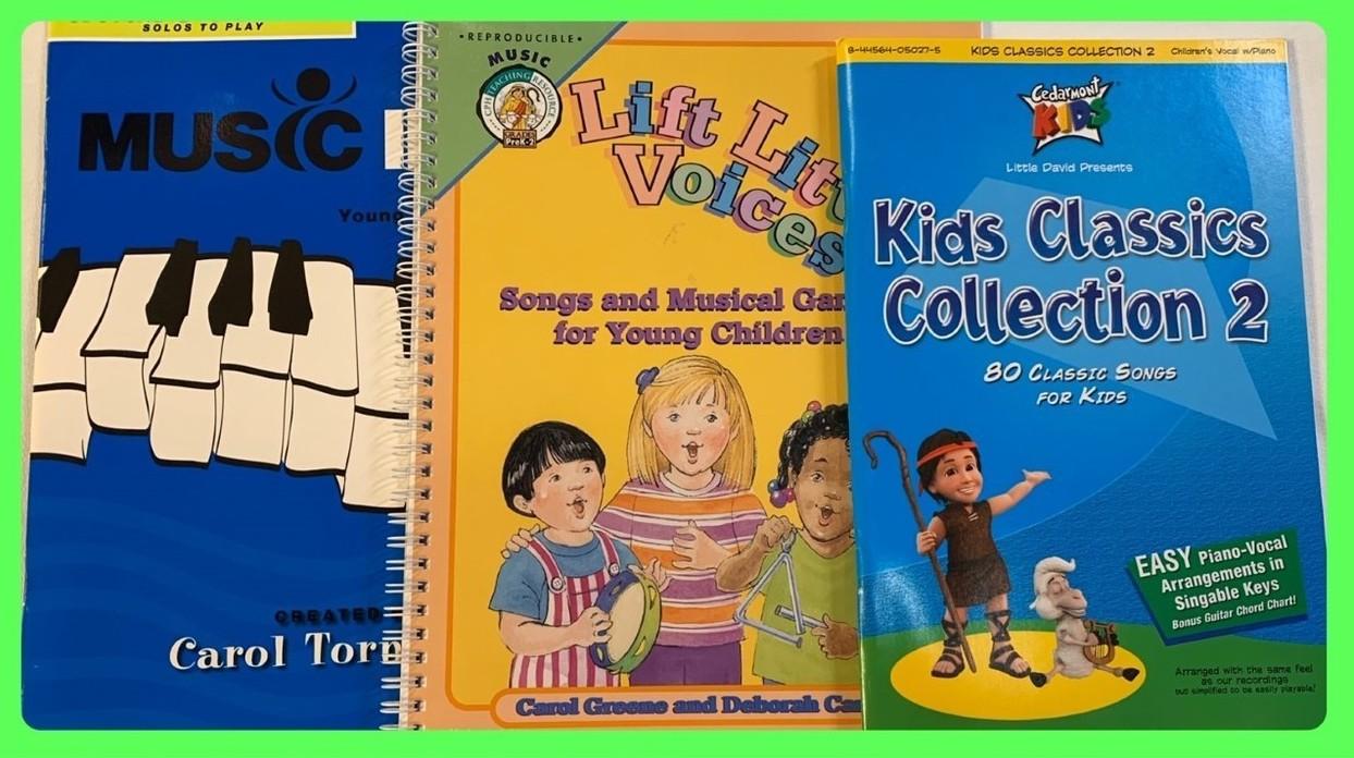 Christian Music Books for Kids in Sheldon, Iowa