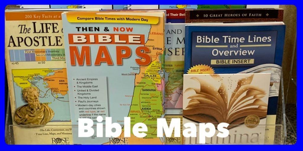 Bible Maps in Sheldon, Iowa
