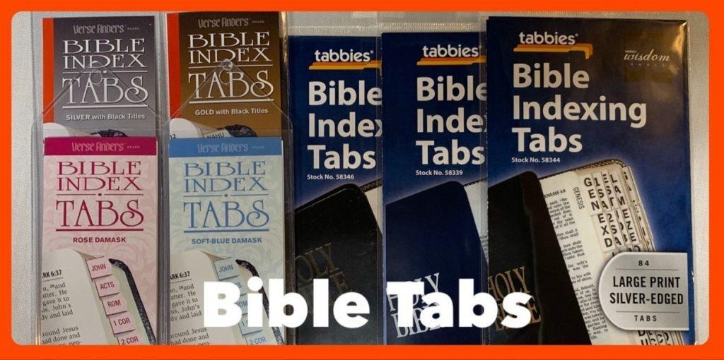 Bible Tabs in Sheldon, Iowa