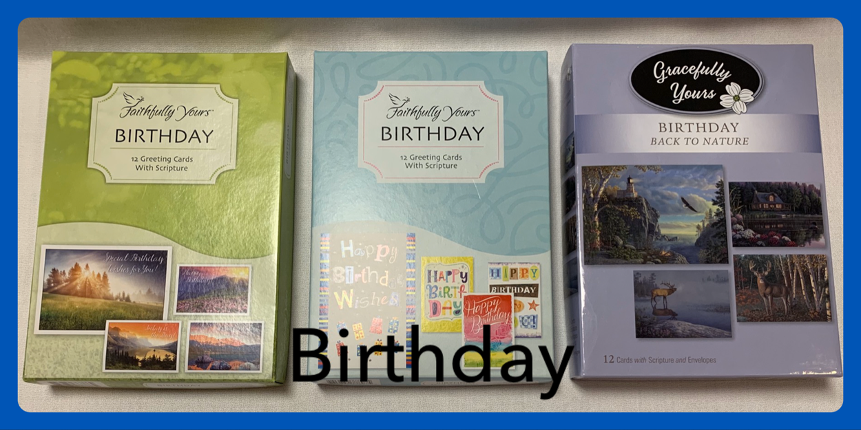 Christian Birthday Cards in Sheldon, Iowa