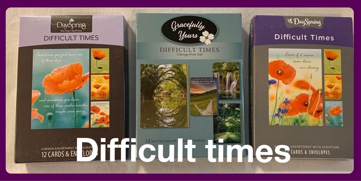 Christian Difficult Times Cards in Sheldon, Iowa