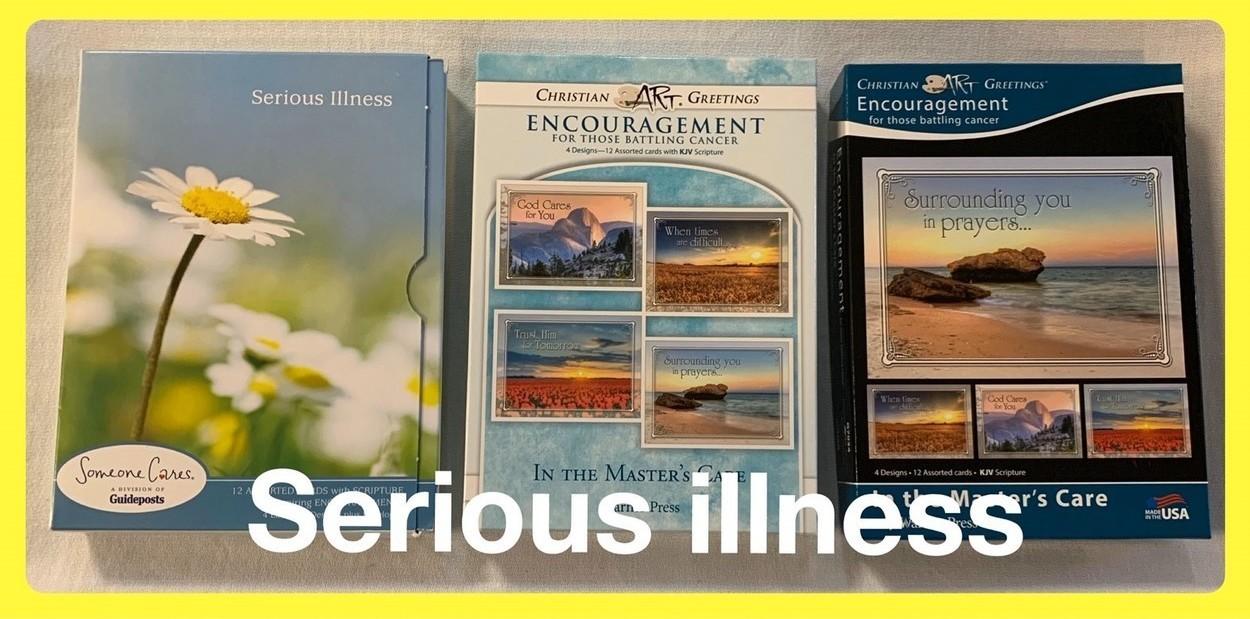 Christian Serious Illness Cards in Sheldon, Iowa