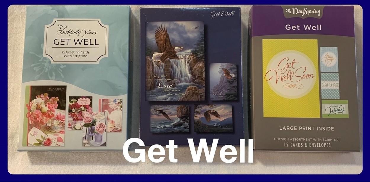 Christian Get Well Cards in Sheldon, Iowa