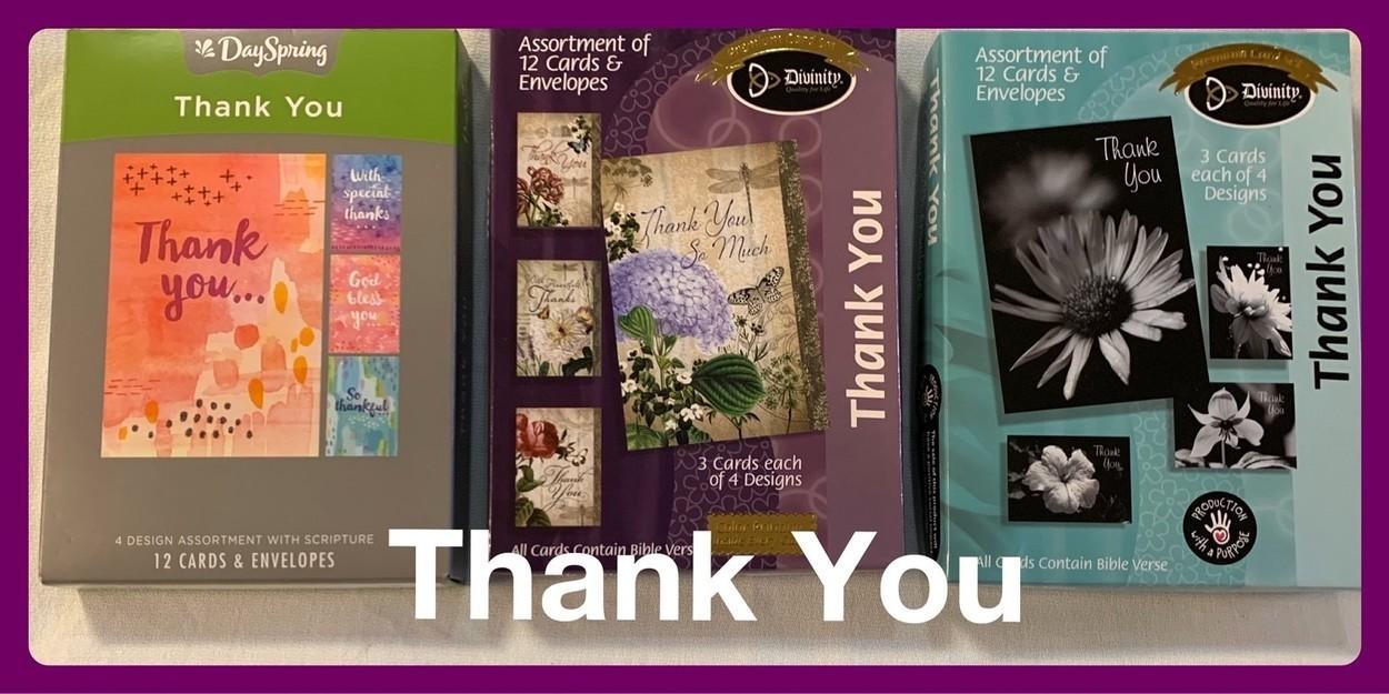 Christian Thank You Cards in Sheldon, Iowa