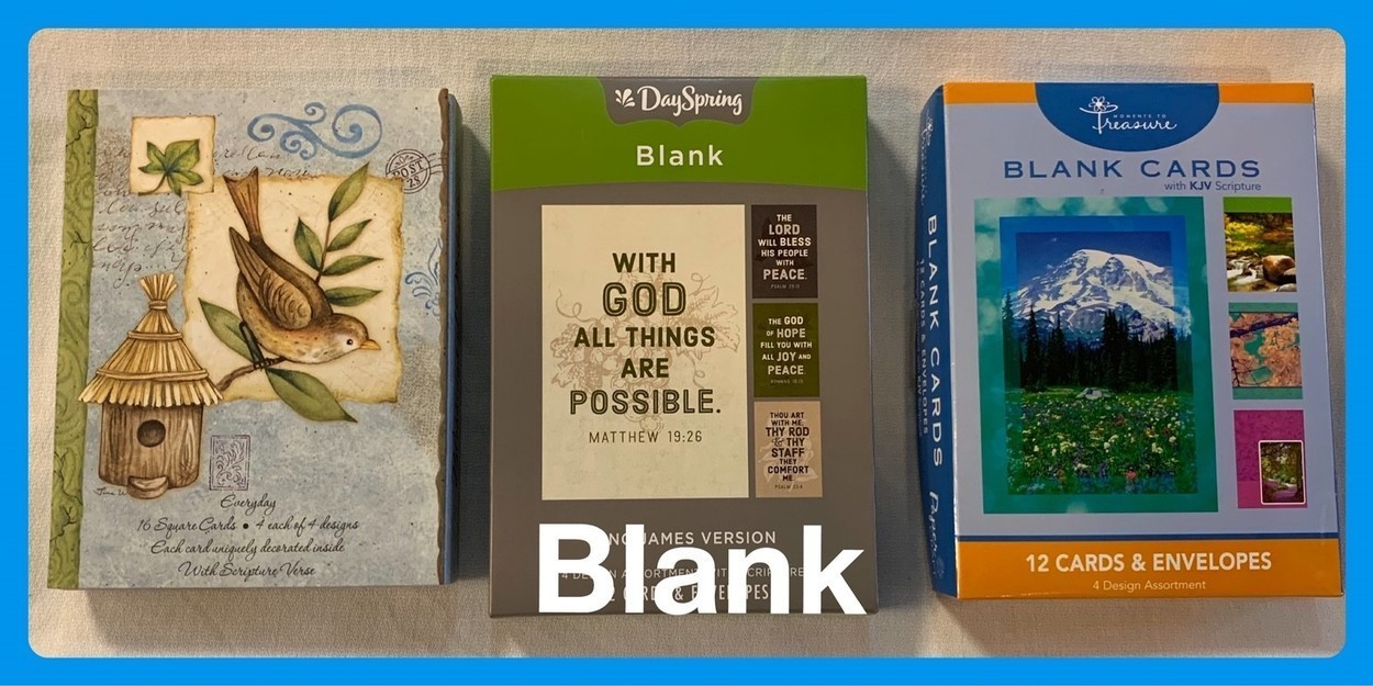 Christian Blank Cards in Sheldon, Iowa