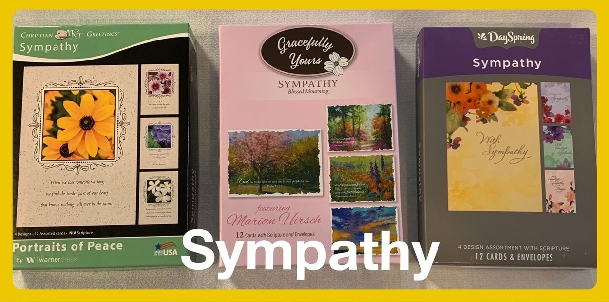Christian Sympathy Cards in Sheldon, Iowa