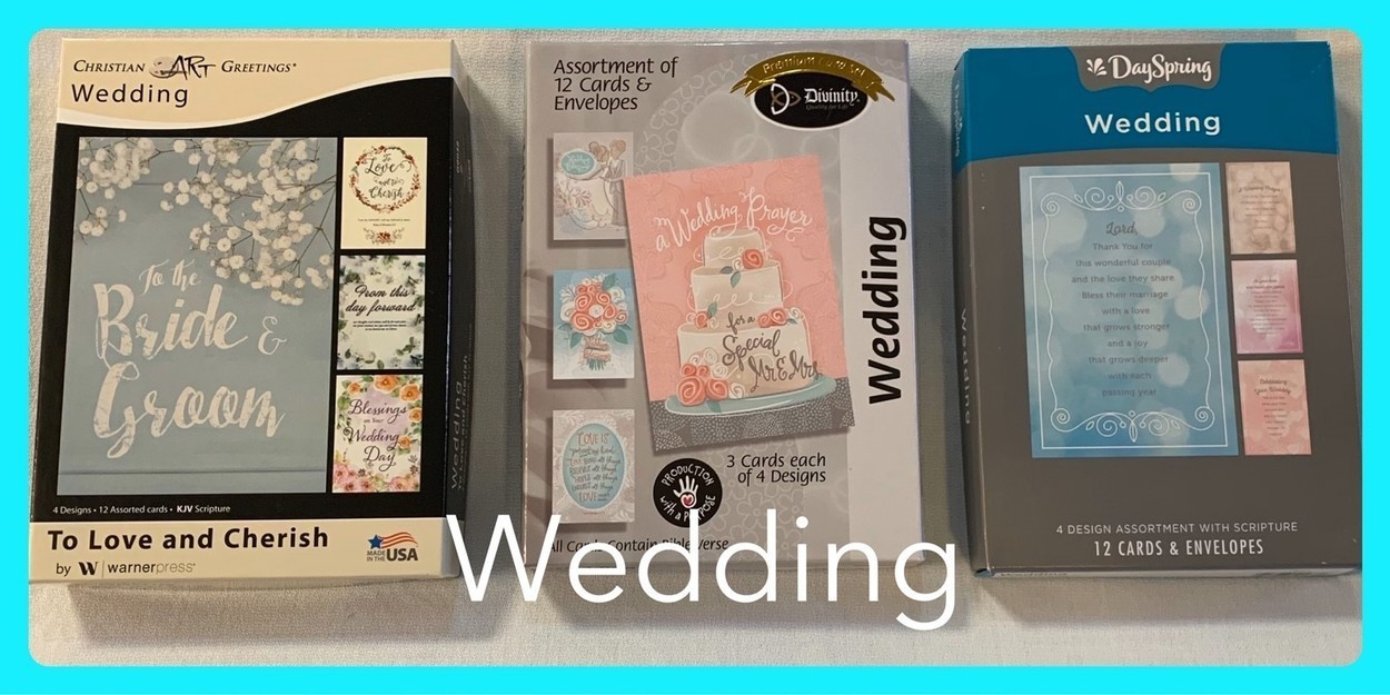 Christian Wedding Cards in Sheldon, Iowa