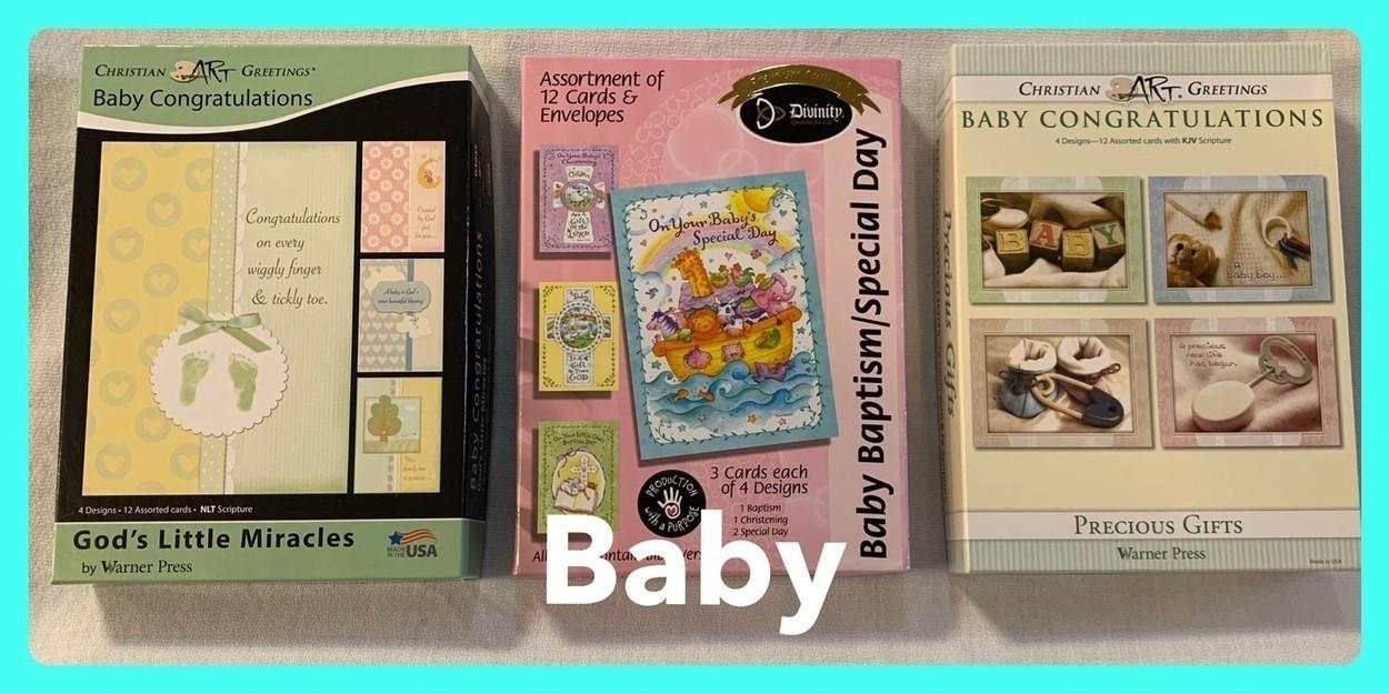 Christian Baby Cards in Sheldon, Iowa