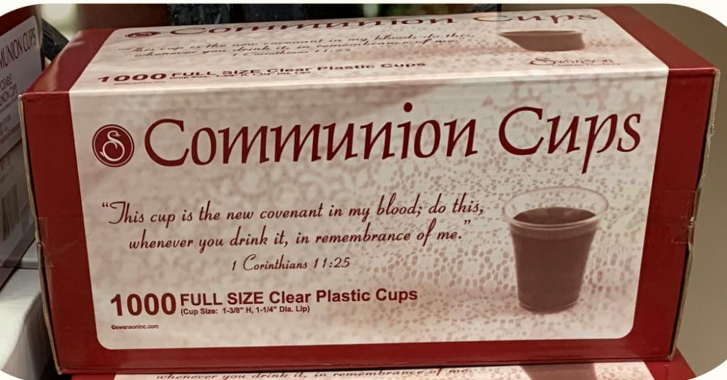 Communion Cups in Sheldon, Iowa