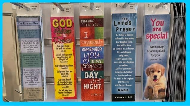 Bible Book Marks in Sheldon, Iowa